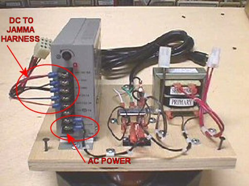 hantarex polo jpac screen wobbling issue rh forum arcadecontrols com Jamma Harness Wiring -Diagram 7-Way Wiring Harness Diagram